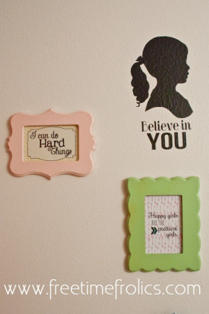 created most of the free printable's and got my frames for my ...