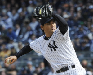 The New York Yankees have placed relief pitcher Chan Ho Park on the 15 ...