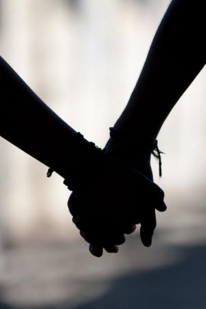 together holding hands by juganue