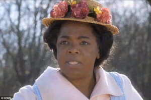 ... role of Sophia from The Color Purple in an OWN promo, released Friday