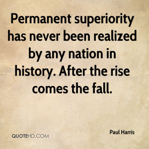 Paul Harris History Quotes
