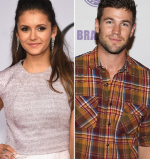 Nina Dobrev And Austin Stowell Caught Kissing At Hallmark Shoebox