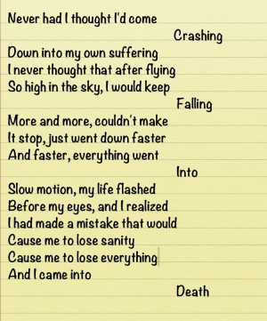 Addiction .:poem.: by MelinaThePoet