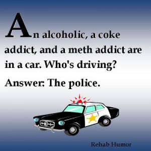 aa slogans and sayings | Alcoholic Humor: Who's Driving Joke