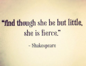 shakespeare. fave quote.