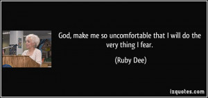 More Ruby Dee Quotes