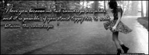 Rain Quotes timeline covers : Sad Girl Quotes Timeline Cover for your ...