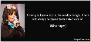 Karma Quotes Facebook...