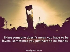 Are You More than Friends or Just Friends?