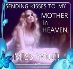 my mother in heaven