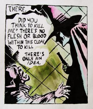 for Vendetta Comic by Samanthamum