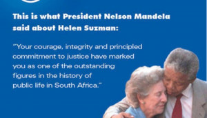 ... the DA was criticised for using an image of Mandela with Helen Suzman