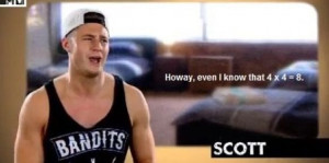 ... quote. Scott.Geordie Shore Quotes, L'Wren Scott, Math Class, Funny