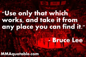Use only that which works, and take it from any place you can find it ...