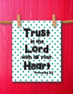 Proverbs 35 Christian Quotes about Life by WeLovePrintableArt, $5.00 ...