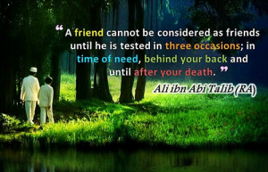 imam ali quotes on friends