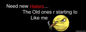 Need New Haters Facebook Profile Timeline Cover