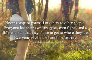 ... quotes reason struggles teenager quotes different path self image