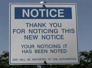 random funny notice sign quotes humor dea2fd1d8e1410015b6c87d91b2b47a2