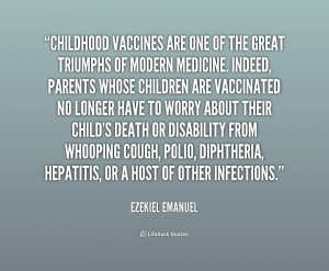 Quotes On Childhood Vaccinations