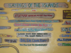 Island Sayings