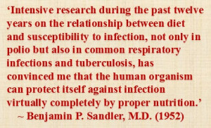 Viruses and bacteria are not the sole cause of infectiousdisease ...
