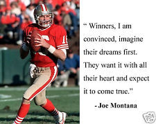 Joe Montana San Francisco 49ers