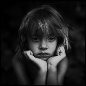 sad portrait photography