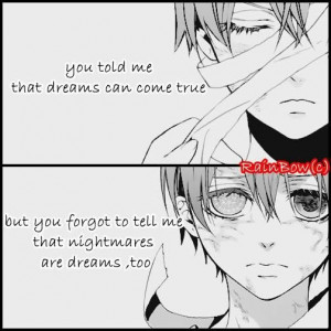 Anime Quotes About Dreams (1)