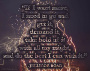 What are some of your favorite quotes from Jellicoe Road ?
