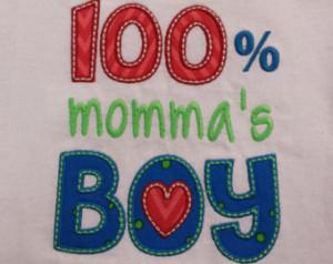 Momma's boy t shirt, boy shirt , mama's boy. embroidered shirt ...