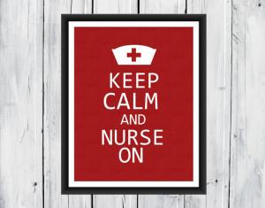 Nurse Office Background Nurse appreciation print