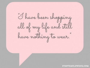 Shopping Quote @ItsOverflowing