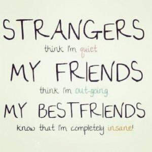 friends #laughter #funny #strangers #quiet #bestfriends #insane