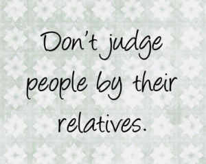 Relatives family quotes