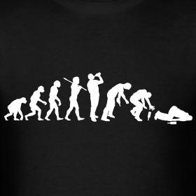 Design ~ Evolution of a Drunk w/Frank Sinatra quote