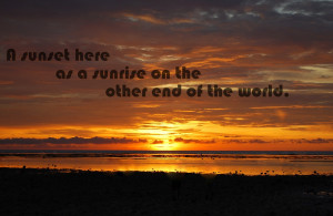 Sunset Quotes About Life Life quotes. a sunset here
