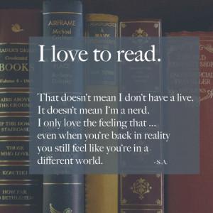 booklover, books, feeling, i love to read, like, read, reading, world