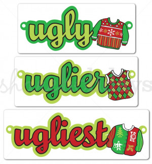Ugly Sweater Display Garland | page 1
