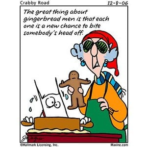 GG-Funny Old Lady Maxine Talks about Christmas Comics…With Codes ...