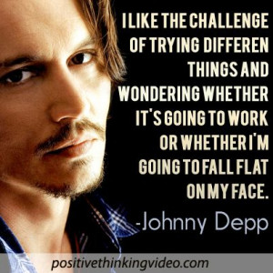 Johnny Depp #inspiration #quote