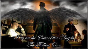 Sherlock Quotes Side Of The Angels I'm on the side of the angels