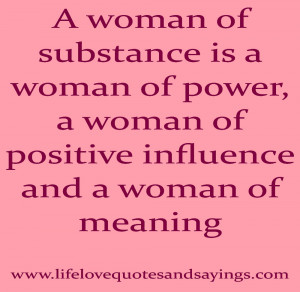 ladies of substance is a ladies of force a ladies of positive impact ...