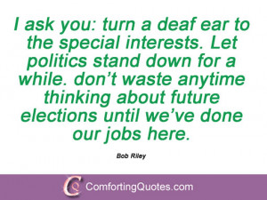 11 Quotes And Sayings From Bob Riley