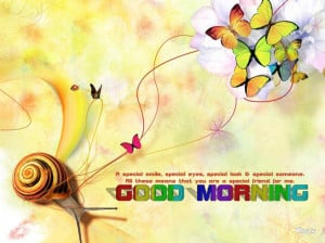 colorful good morning quotes with colorful butterfly ,Good Morning ...