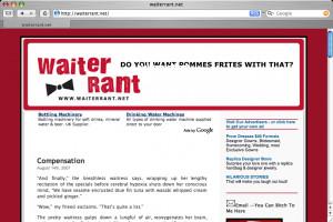 Waiter Rant – Hilarious experiences of a waiter