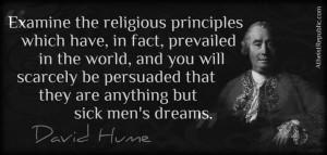 Examine The Religious...