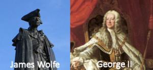 King George II? Duke of Newcastle? Joe Miller? James Wolfe?