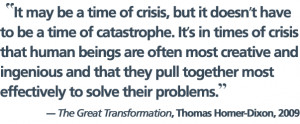 Navigating the Coming Chaos of Unprecedented Transitions