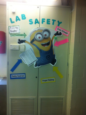 Middle school science: lab safety fun! Really any excuse to put a ...